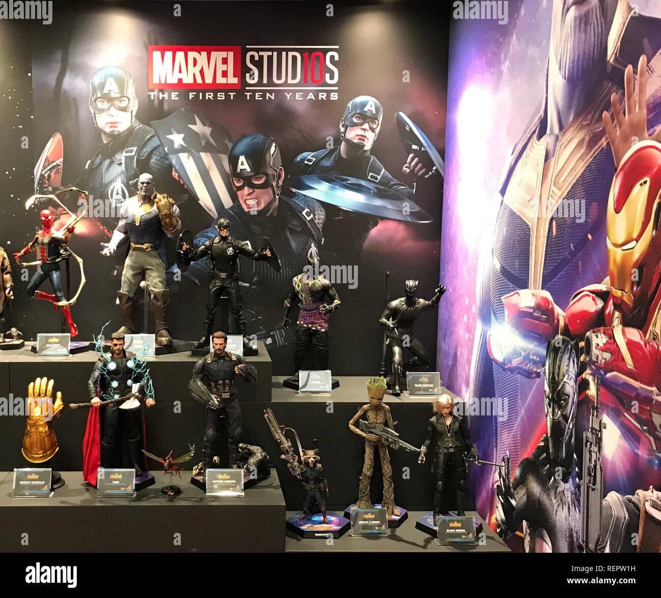 Amerang's range of Marvel's Avengers collectible figures