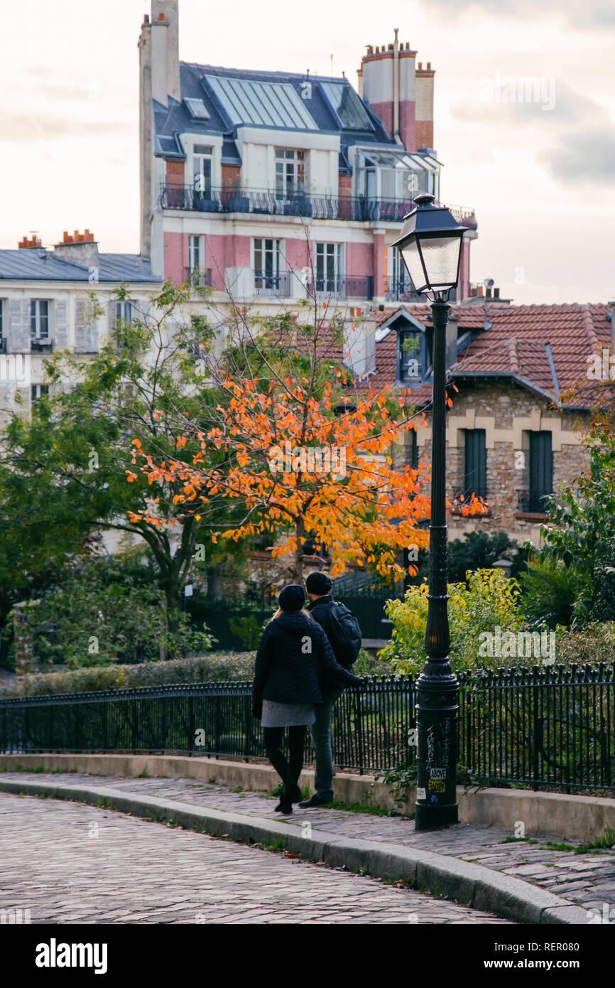 Paris (France) - Montmartre Stock Photo