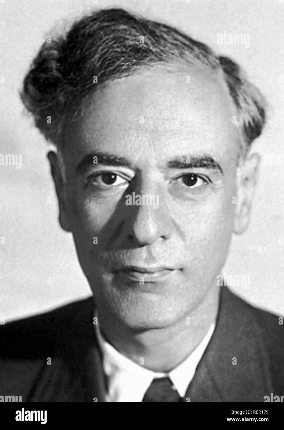 Lev Landau (1908 – 1968) Soviet physicist - Stock Image