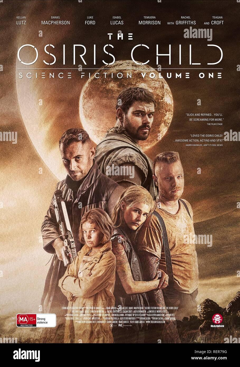ee1efcec98 DANIEL MACPHERSON KELLAN LUTZ TEAGAN CROFT ISABEL LUCAS & LUKE FORD POSTER SCIENCE  FICTION VOLUME ONE: THE OSIRIS CHILD (2016