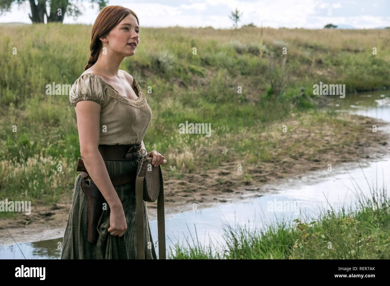 HALEY BENNETT THE MAGNIFICENT SEVEN (2016) - Stock Image