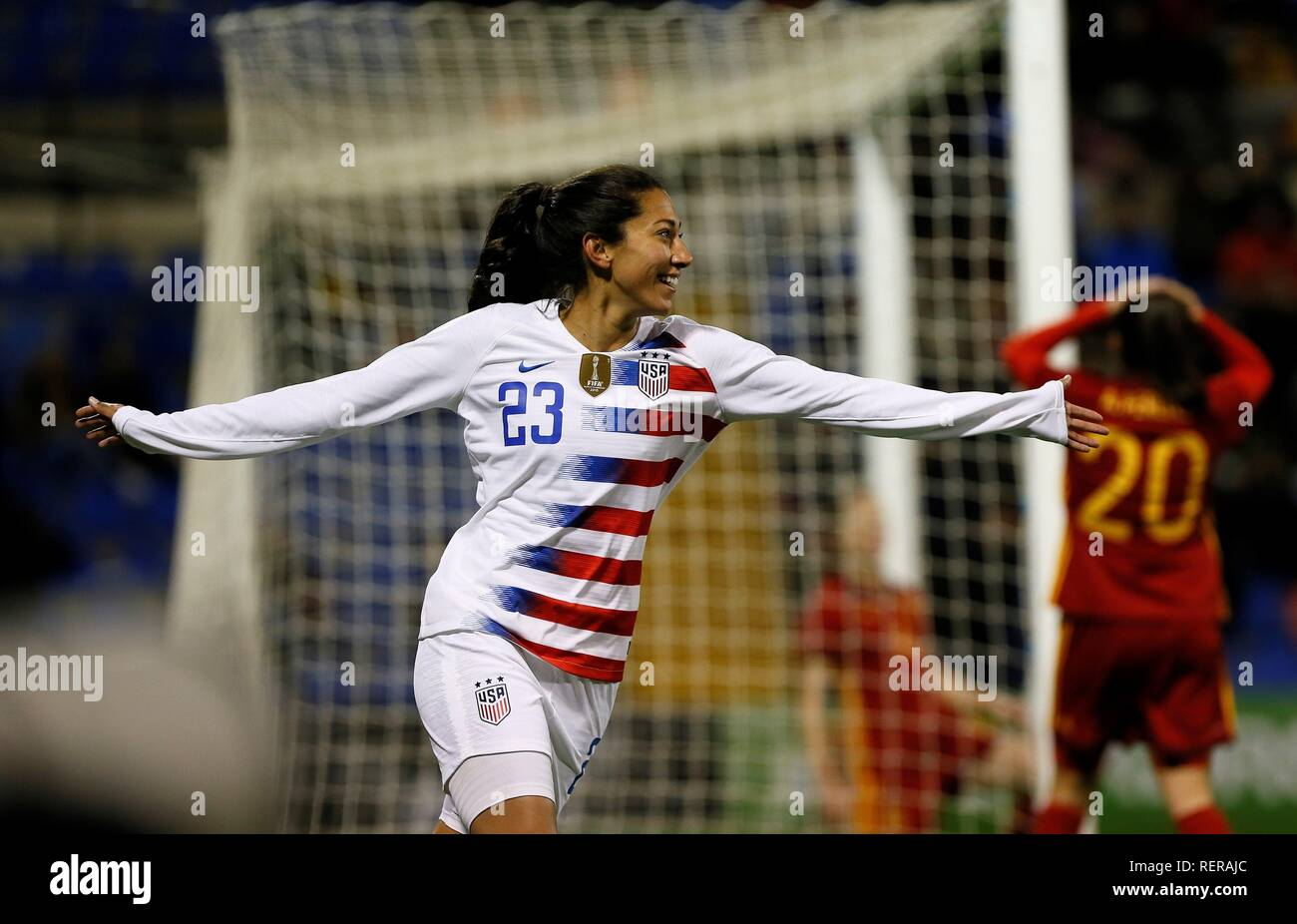 Alicante, Spain  22nd Jan, 2019  US Christen Press (L