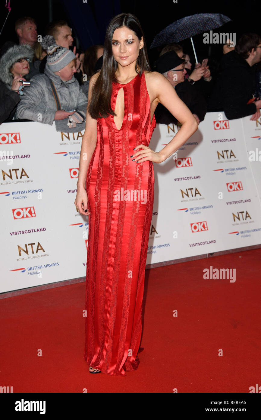 LONDON, UK. January 22, 2019: Lilah Parsons at the National TV Awards 2019 at the O2 Arena, London. Picture: Steve Vas/Featureflash - Stock Image