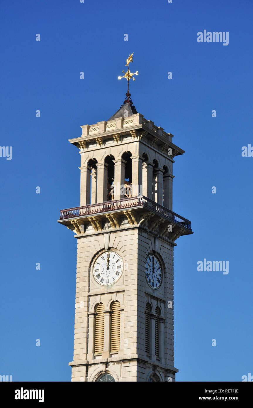 Clock Tower, Caledonian Park, Market Road, Islington, London, England, UK - Stock Image