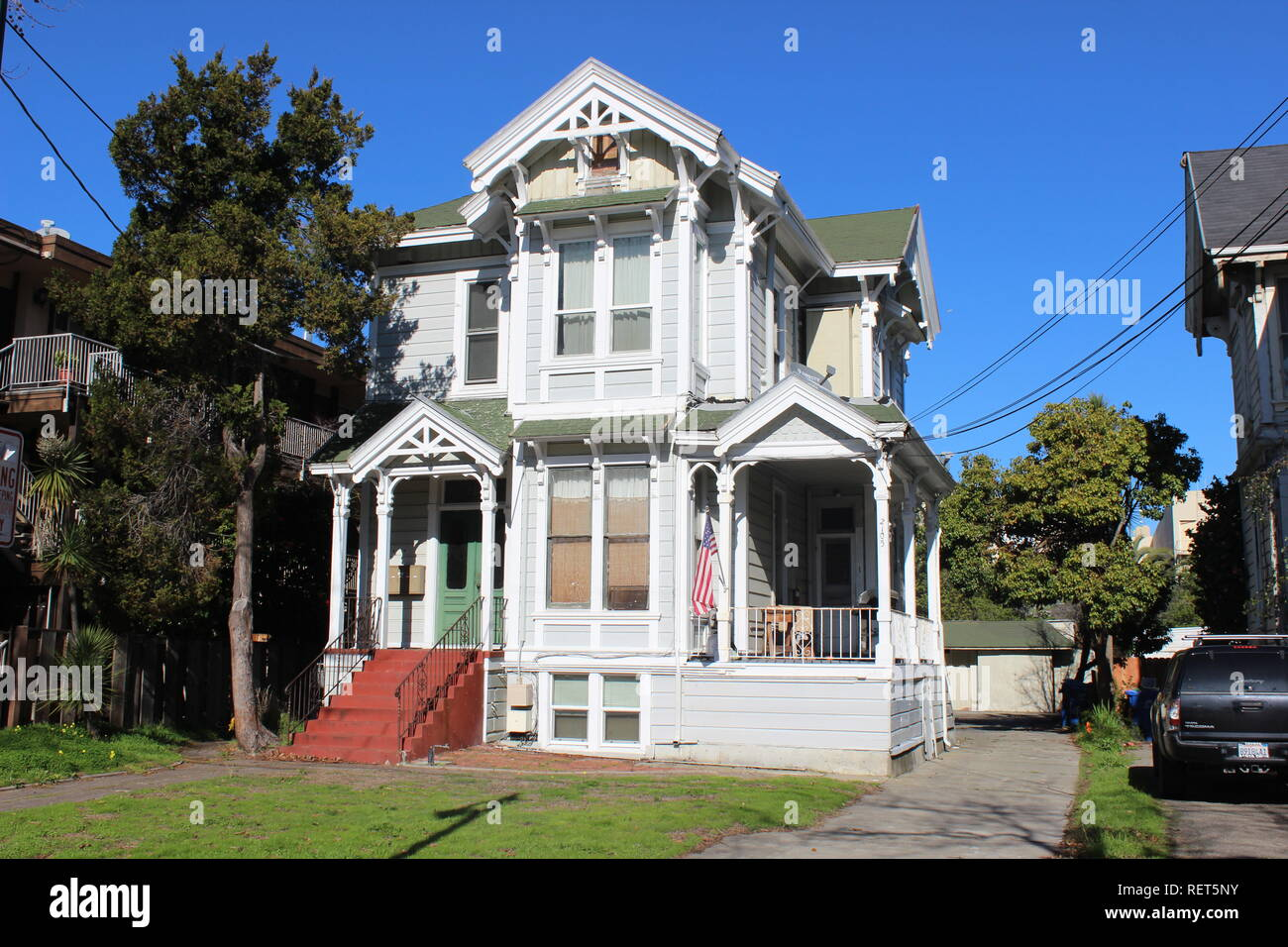 Eastlake House, built 1888, Alameda, California - Stock Image