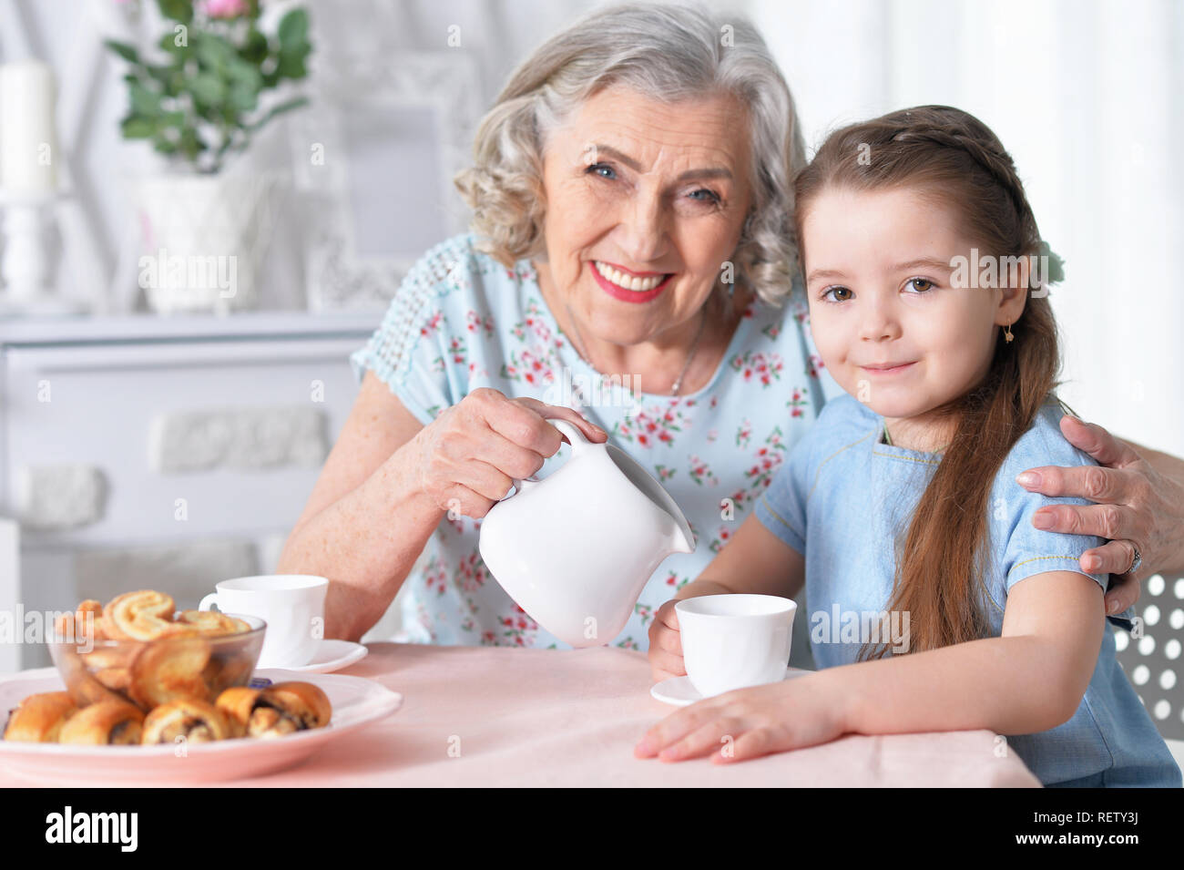 Old women on a young girl — 2