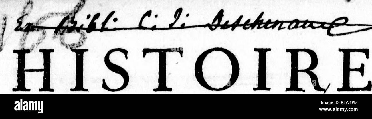 . Histoire naturelle, générale et particulière [microforme]. Sciences naturelles; Natural history. ^/^^ én/^tii % ? ^ iXtJUL^^j:^^. NATURELLE, GÃNÃRALE ET PARTICULIERE. r^r M. DE BuFFON, Intendant du Jardin du Roi, de l'Académie Fratiçoife, & de celle des Sciences, &c, NOUVELLE ÃDITION. <  à &V -l,.-» Tome Sixième.. Please note that these images are extracted from scanned page images that may have been digitally enhanced for readability - coloration and appearance of these illustrations may not perfectly resemble the original work.. Buffon, Georges Louis Leclerc, comte  - Stock Image