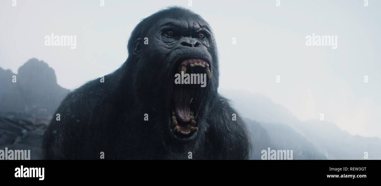 APE THE LEGEND OF TARZAN (2016) - Stock Image