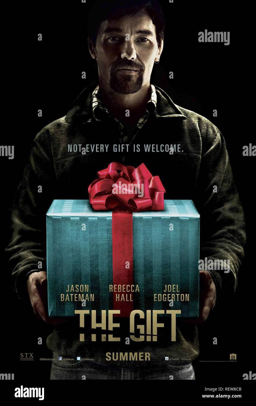 JOEL EDGERTON POSTER  Film 'THE GIFT' (2015)  Directed By JOEL EDGERTON  07 August 2015  SAM51893  Allstar Picture Library/UNIVERSAL PICTURES  **WARNING** This Photograph is for editorial use only and is the copyright of UNIVERSAL PICTURES  and/or the Photographer assigned by the Film or Production Company & can only be reproduced by publications in conjunction with the promotion of the above Film. A Mandatory Credit To UNIVERSAL PICTURES is required. The Photographer should also be credited when known. No commercial use can be granted without written authority from the Film Company. Stock Photo
