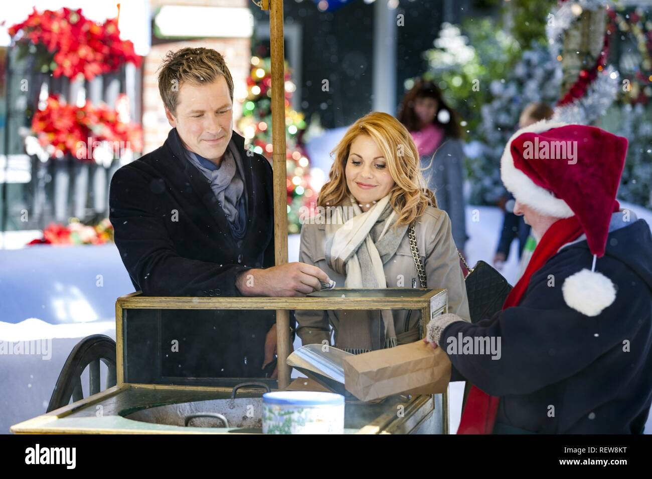 A Christmas Detour.Paul Greene Candace Cameron Bure Character S Dylan Smith