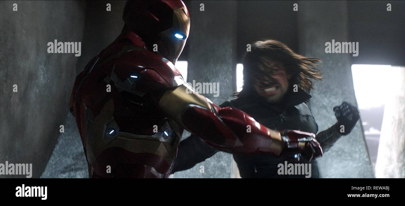 Sebastian Stan Captain America Civil War 2016 Stock Photo Alamy