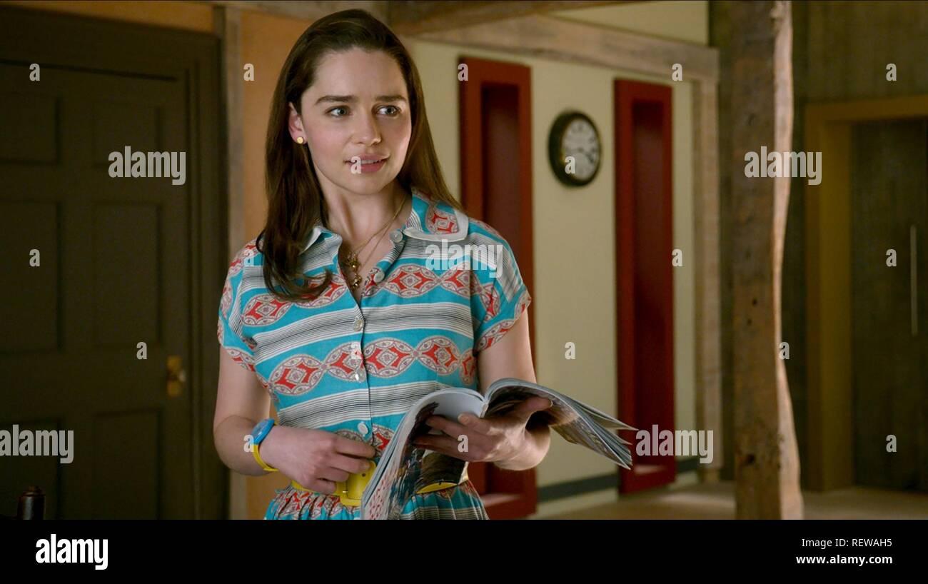 Emilia Clarke Me Before You 2016 Stock Photo Alamy
