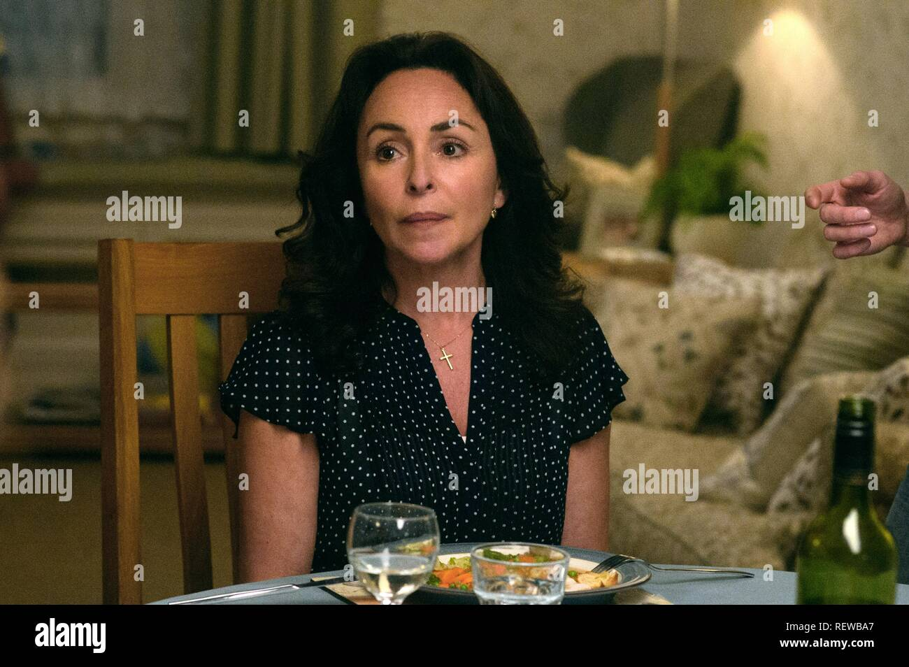 Samantha Spiro Me Before You 2016 Stock Photo Alamy