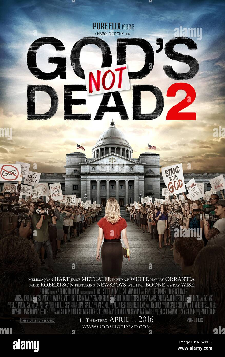 MOVIE POSTER GOD'S NOT DEAD 2 (2016) - Stock Image