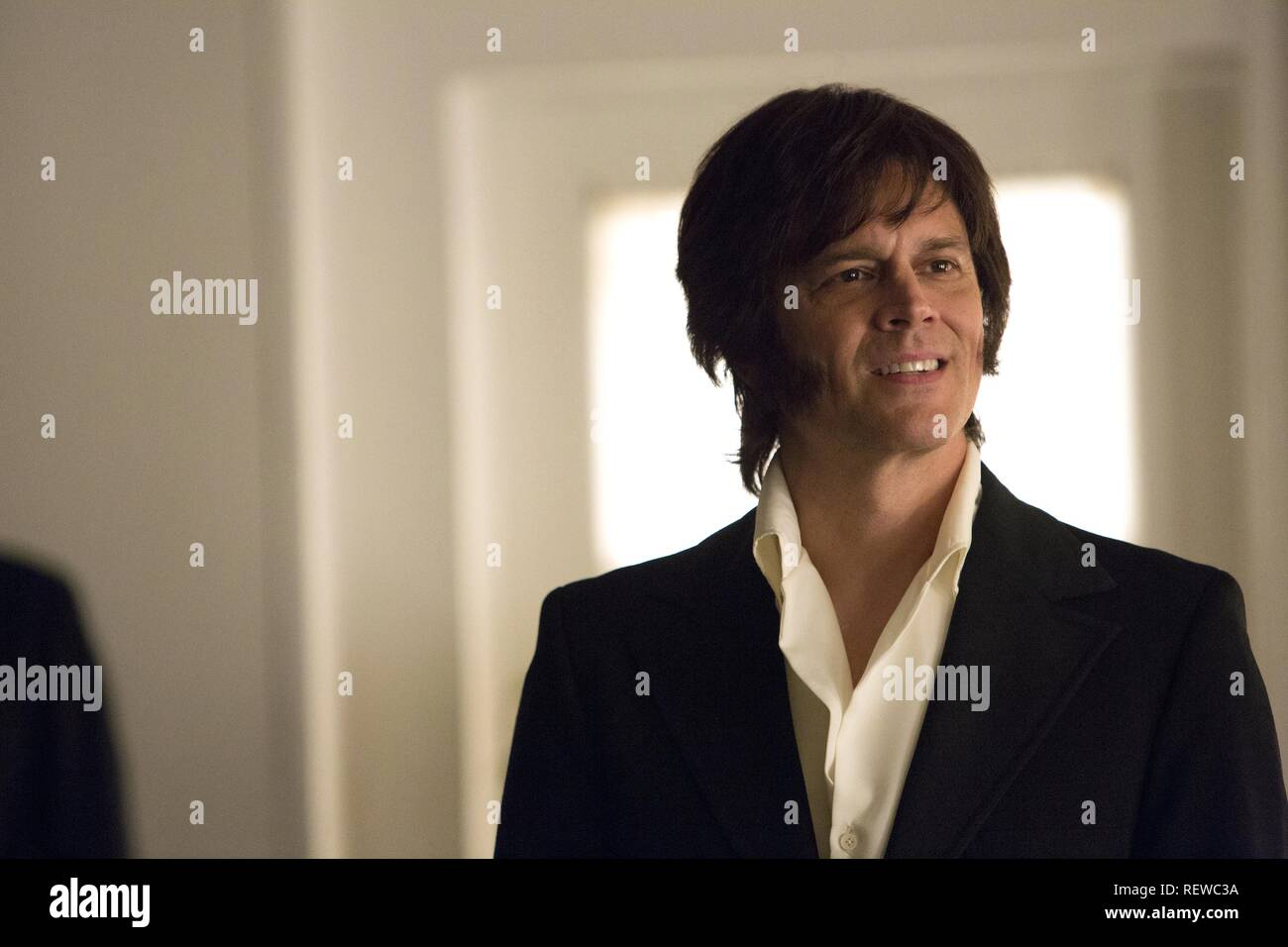 JOHNNY KNOXVILLE ELVIS & NIXON (2016) - Stock Image