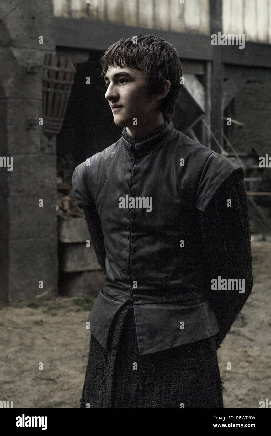 ISAAC HEMPSTEAD WRIGHT GAME OF THRONES : SEASON 6 (2016) - Stock Image