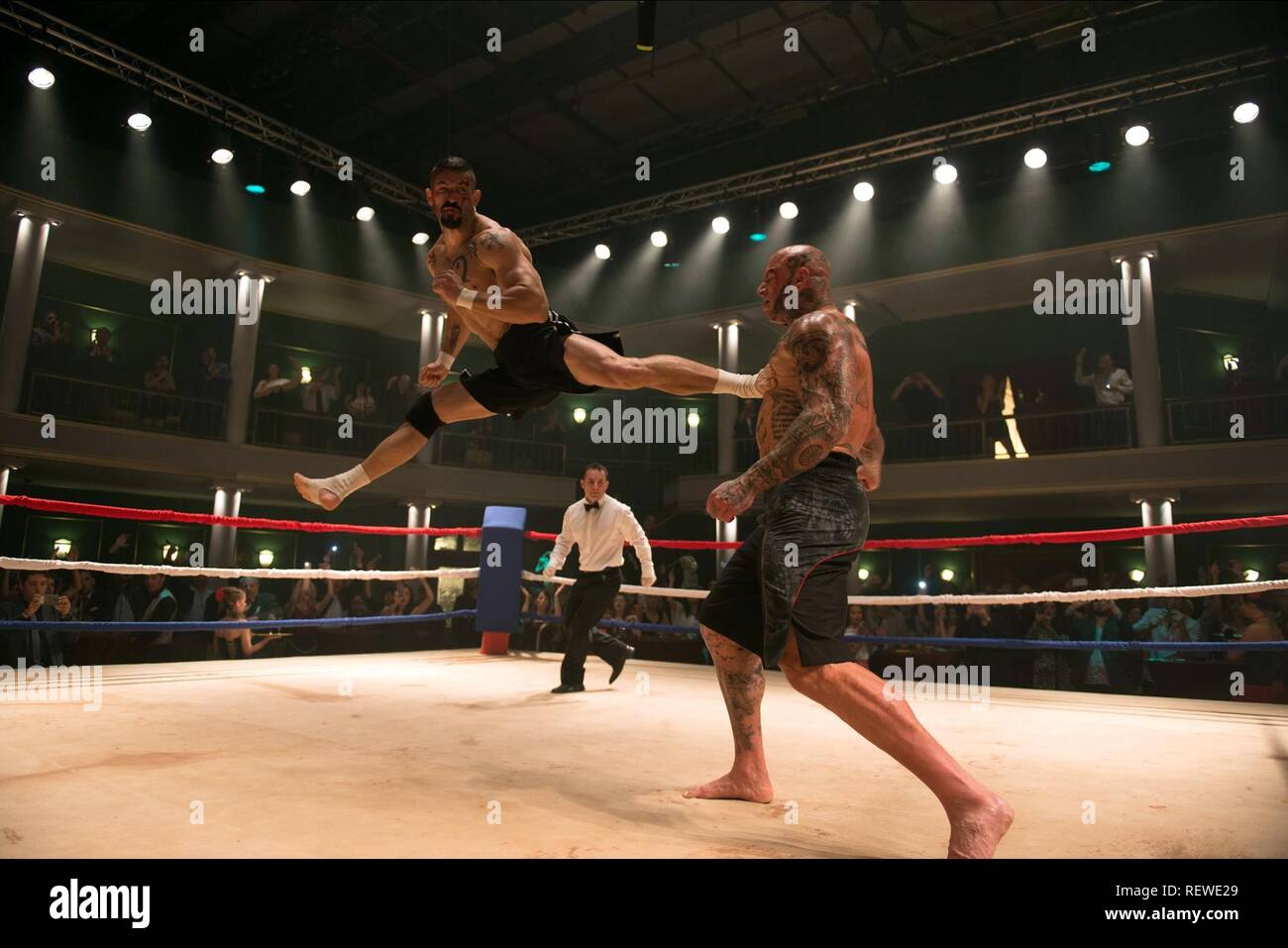 SCOTT ADKINS & MARTYN FORD BOYKA: UNDISPUTED IV (2016) - Stock Image