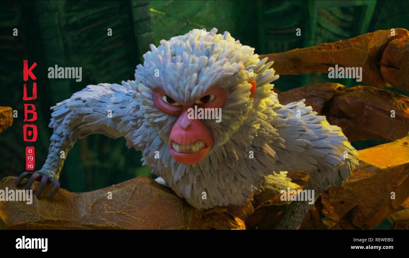 MONKEY KUBO AND THE TWO STRINGS (2016) - Stock Image