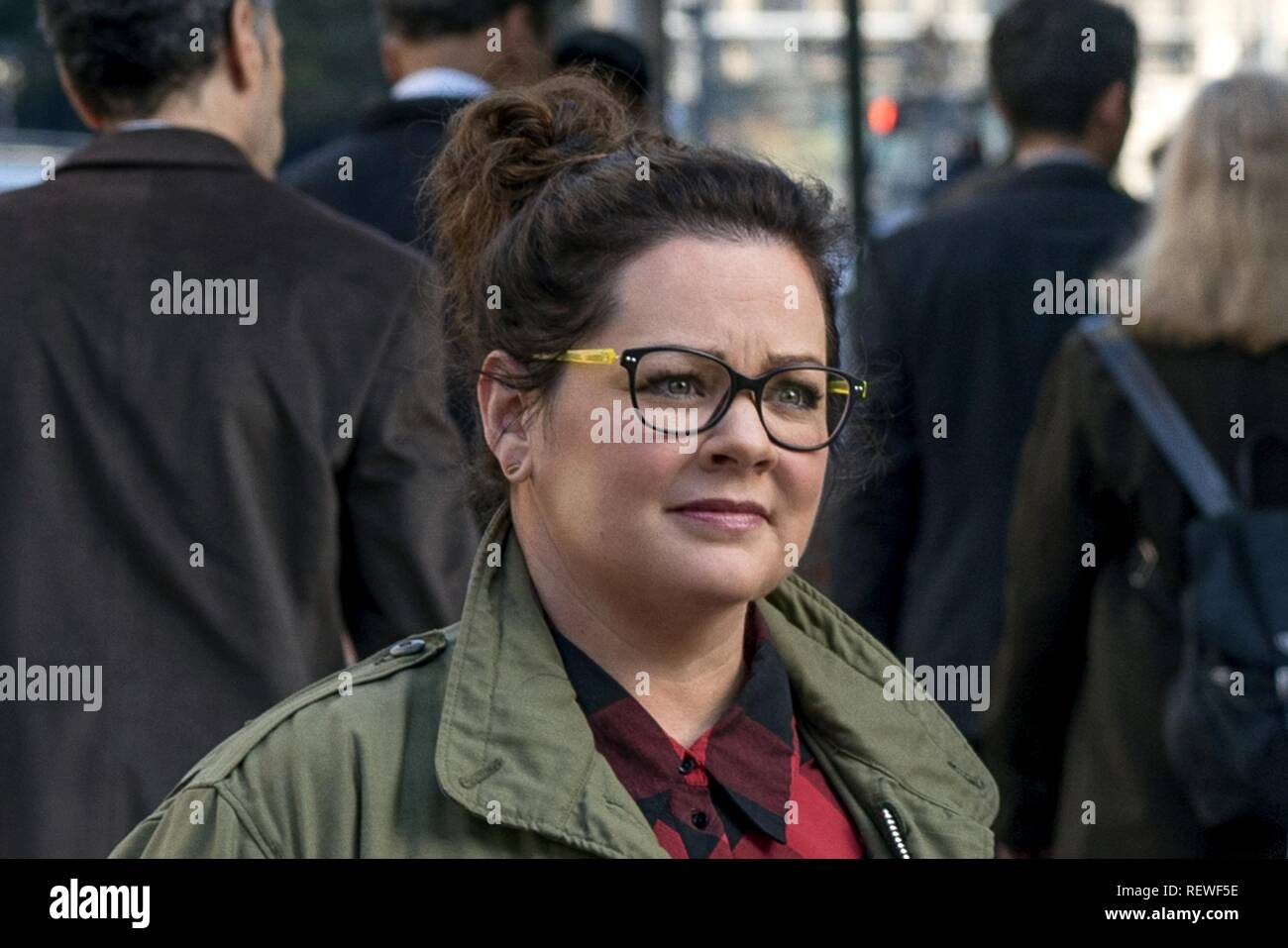 MELISSA MCCARTHY GHOSTBUSTERS (2016) - Stock Image
