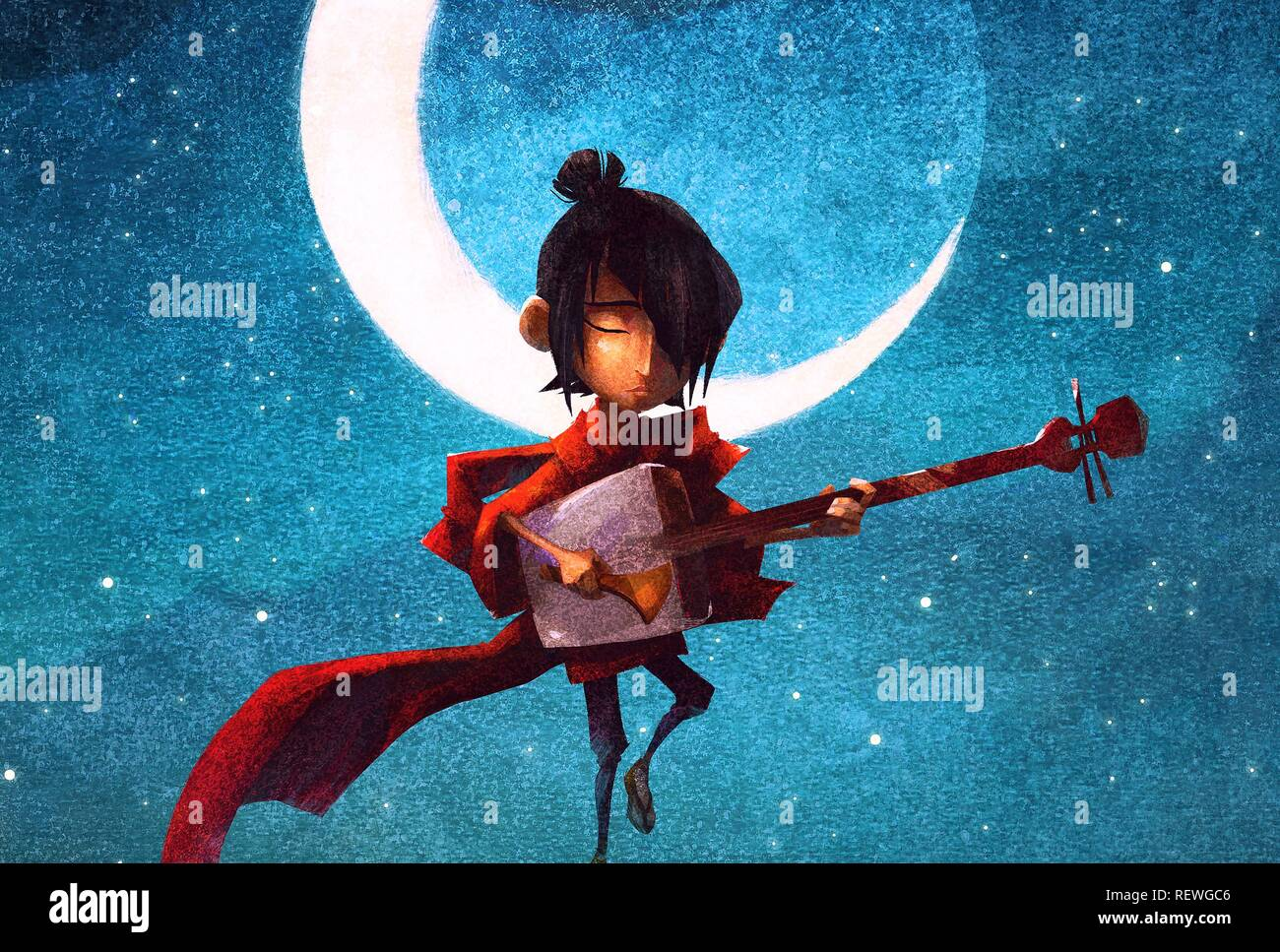 KUBO KUBO AND THE TWO STRINGS (2016) - Stock Image