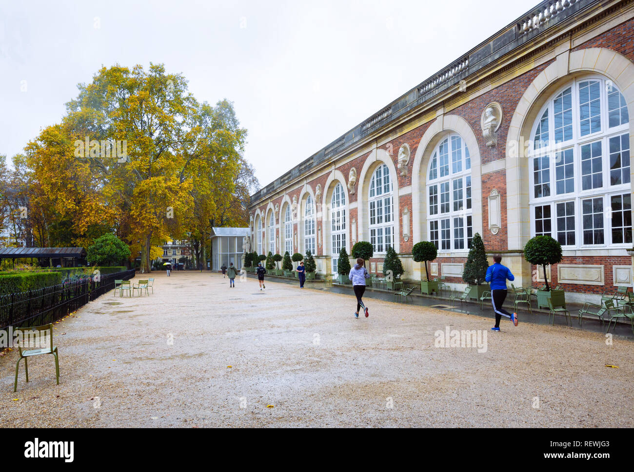 Paris (France) - Musée du Luxembourg Stock Photo