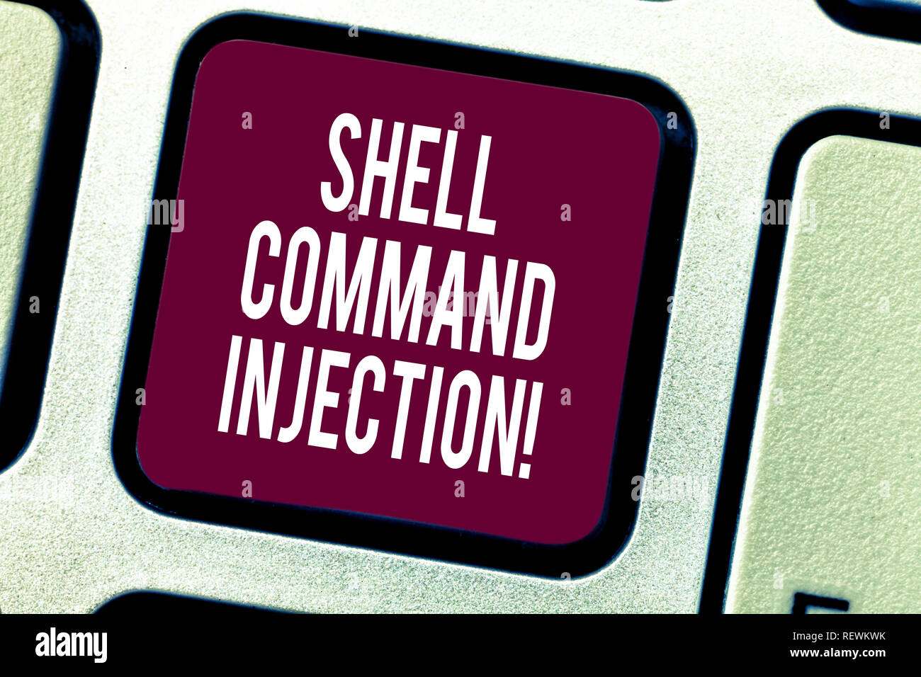 Text sign showing Shell Comanalysisd Injection  Conceptual photo