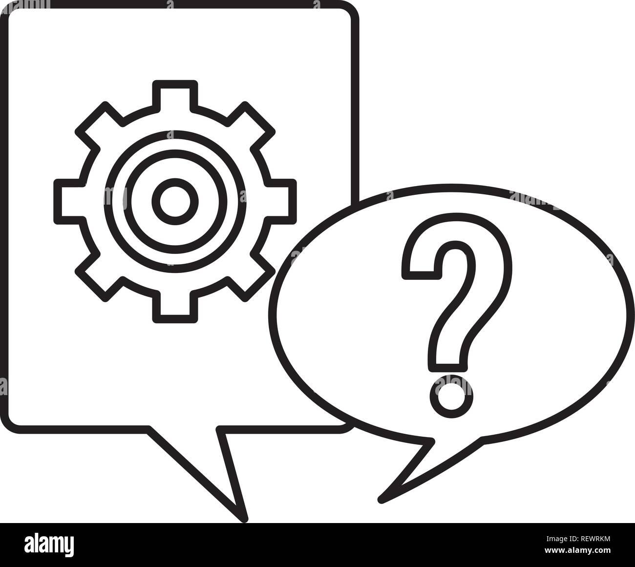 speech bubble icon - Stock Image