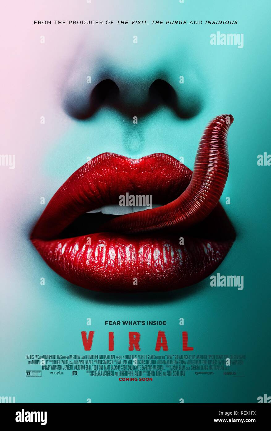MOVIE POSTER VIRAL (2016) - Stock Image