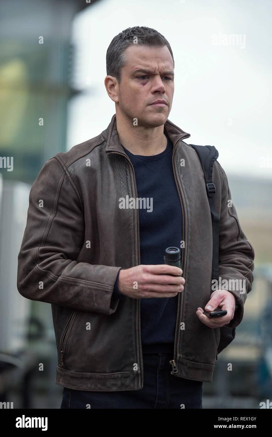 Matt Damon Jason Bourne 2016 Stock Photo Alamy
