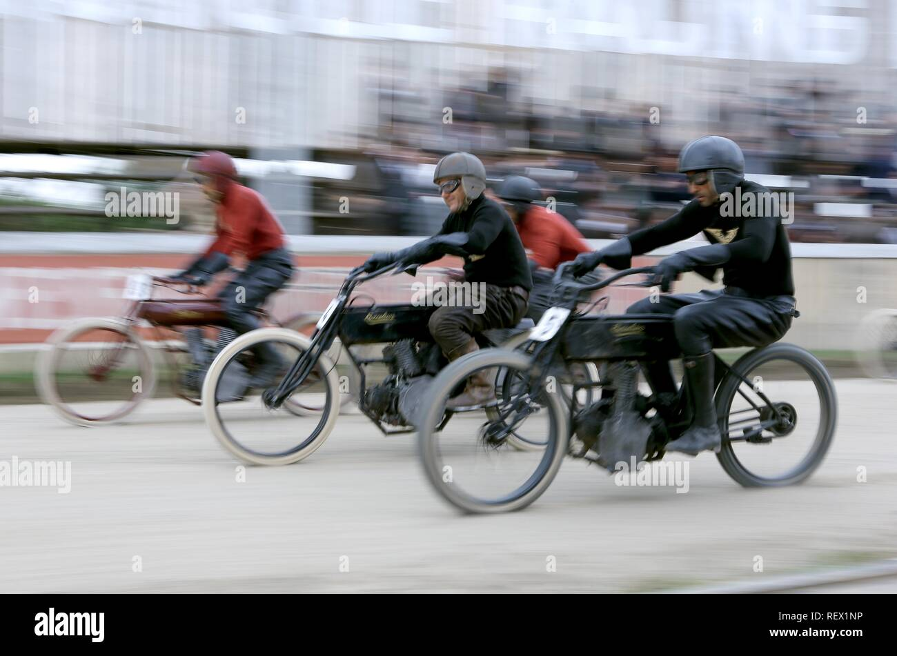 MOTORCYCLE RACE HARLEY AND THE DAVIDSONS (2016) - Stock Image