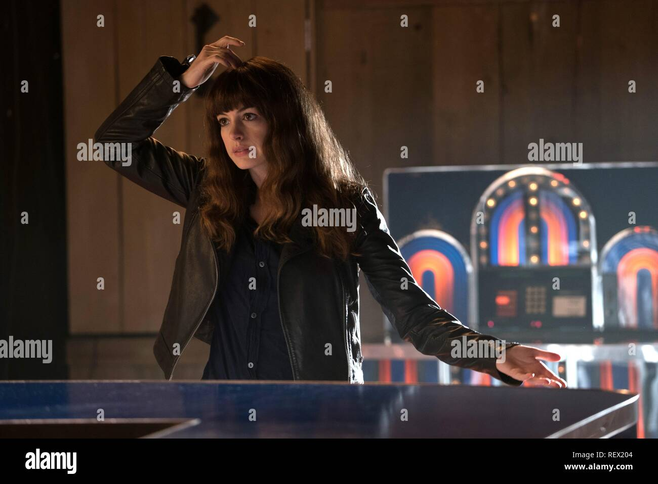 ANNE HATHAWAY COLOSSAL (2016) - Stock Image