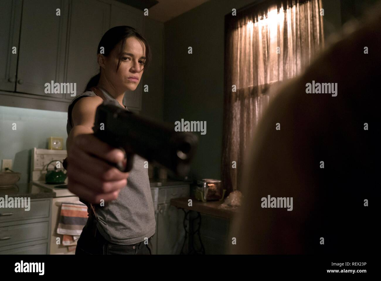 MICHELLE RODRIGUEZ THE ASSIGNMENT (2016) - Stock Image