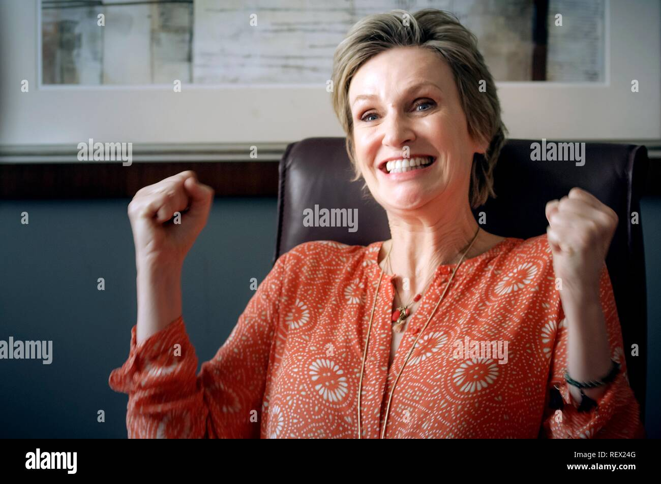 JANE LYNCH THE LATE BLOOMER (2016) - Stock Image