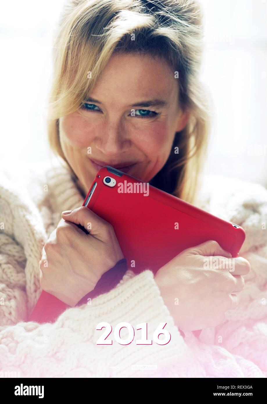 Renee Zellweger Poster Bridget Jones S Baby 2016 Stock Photo Alamy