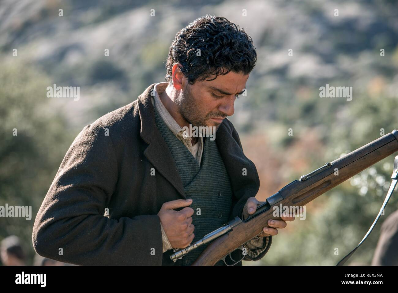 OSCAR ISAAC THE PROMISE (2016) Stock Photo