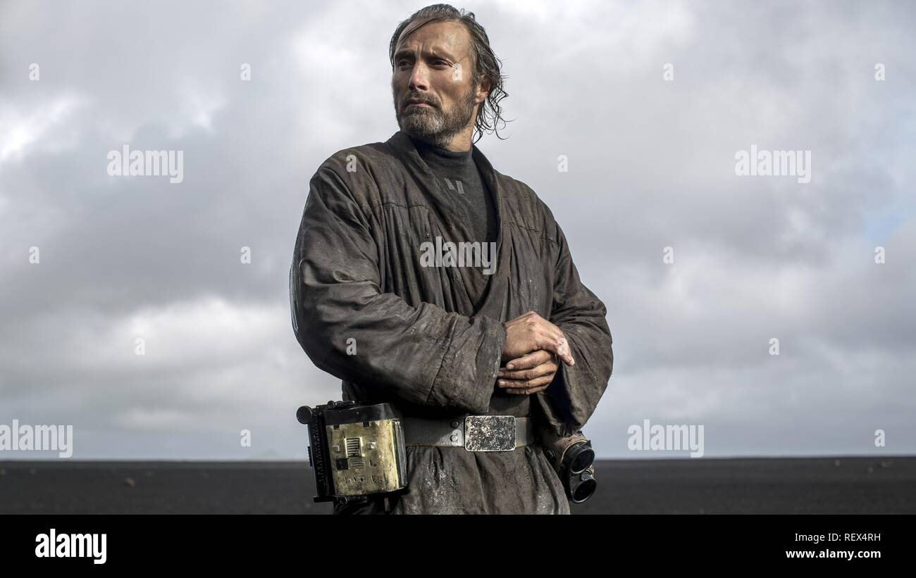 Mads Mikkelsen Rogue One A Star Wars Story 2016 Stock Photo Alamy