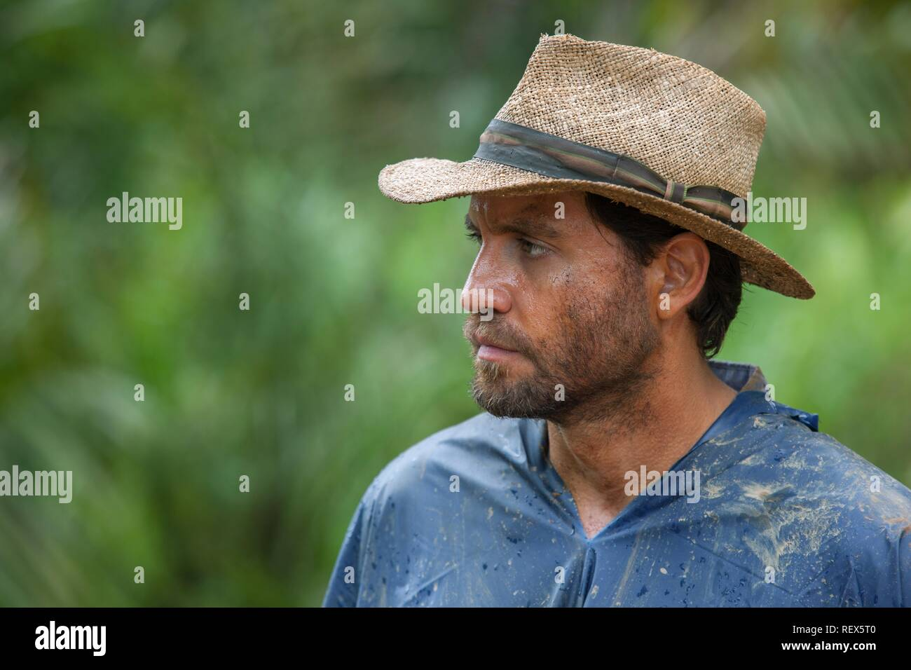 EDGAR RAMIREZ GOLD (2016) - Stock Image