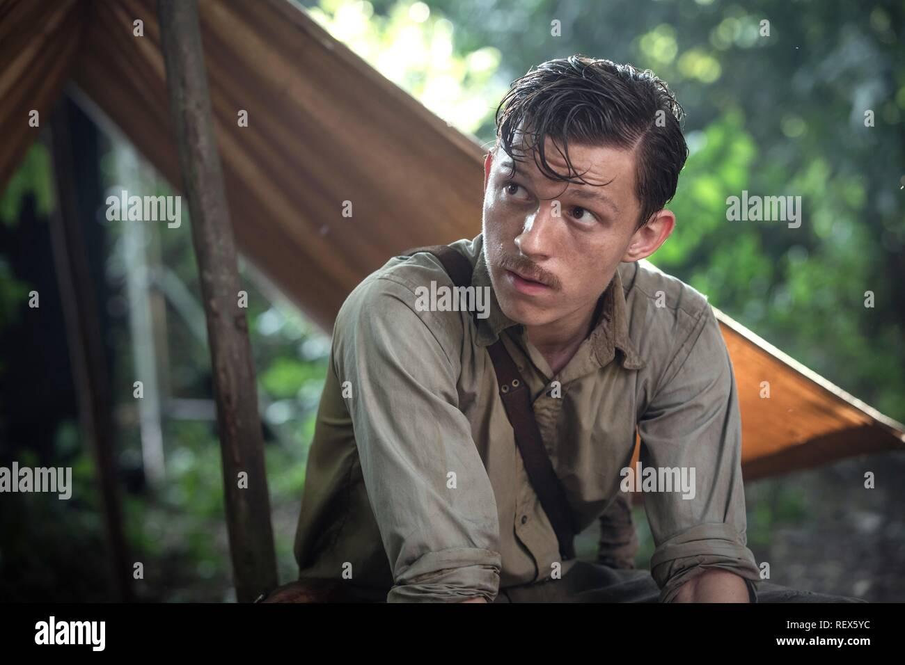 Tom Holland Film: The Lost City Of Z (USA 2016)  Character(s): Jack Fawcett  / Literaturverfilmung (Based On The Book By David Grann) Director: James Gray 15 October 2016  SAS74786 Allstar Picture Library/MADRIVER PICTURES/STUDIOCANAL  **Warning**  This Photograph is for editorial use only and is the copyright of MADRIVER PICTURES/STUDIOCANAL  and/or the Photographer assigned by the Film or Production Company & can only be reproduced by publications in conjunction with the promotion of the above Film. A Mandatory Credit To MADRIVER PICTURES/STUDIOCANAL is required. The Photographer should also - Stock Image