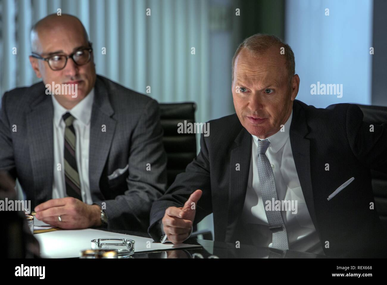 MICHAEL KEATON THE FOUNDER (2016) - Stock Image