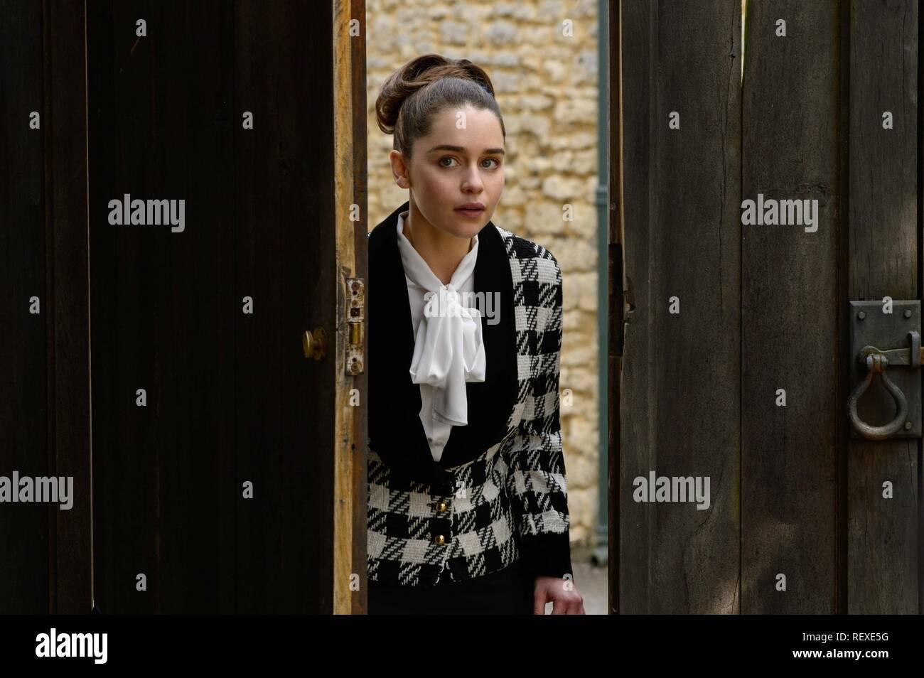 EMILIA CLARKE ME BEFORE YOU (2016) - Stock Image
