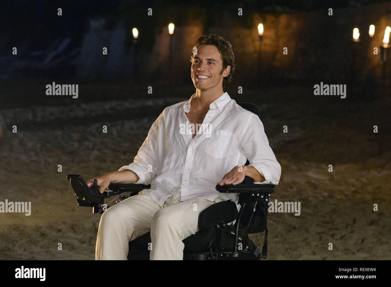 Sam Claflin Me Before You 2016 Stock Photo Alamy