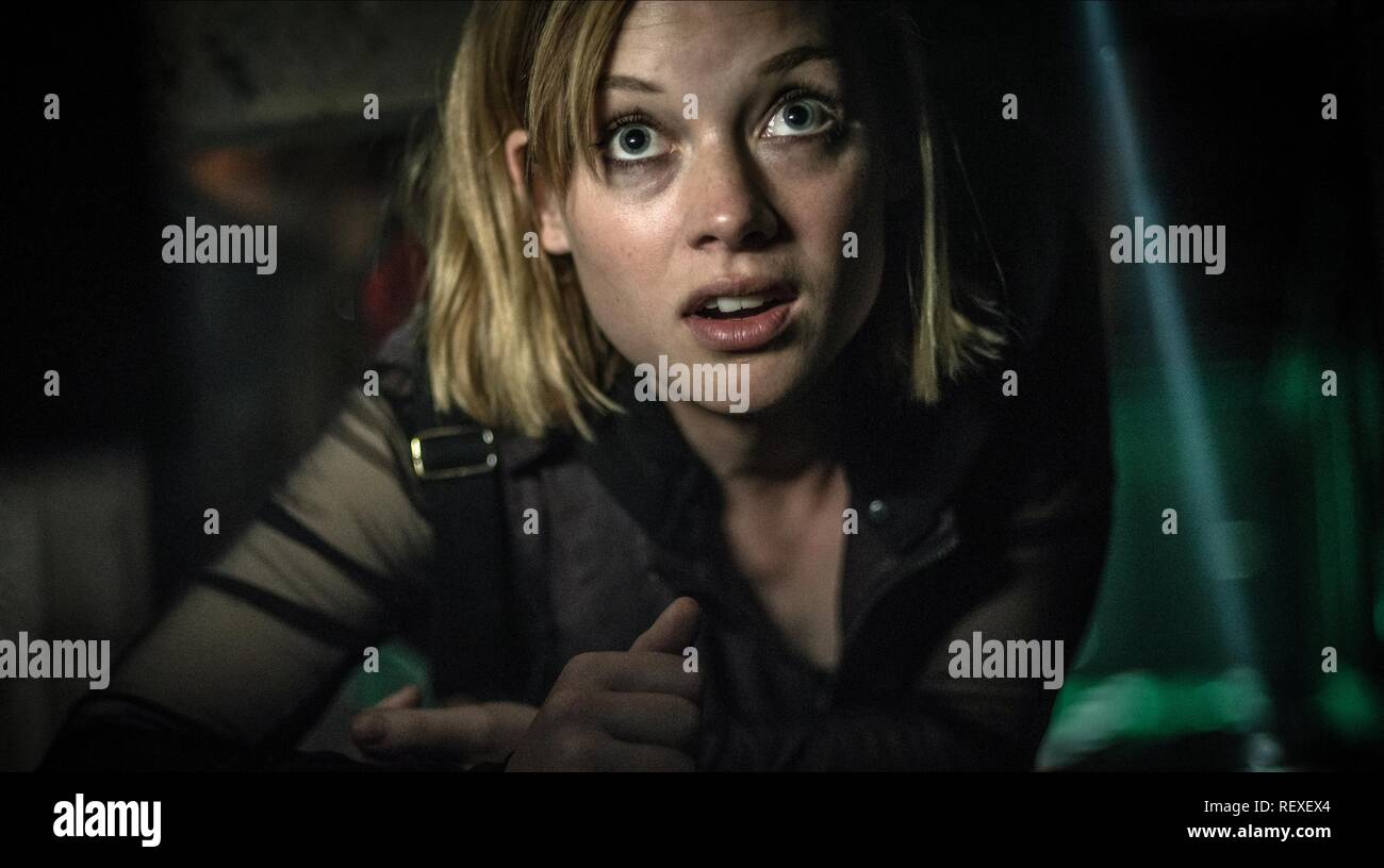 JANE LEVY DON'T BREATHE (2016) - Stock Image