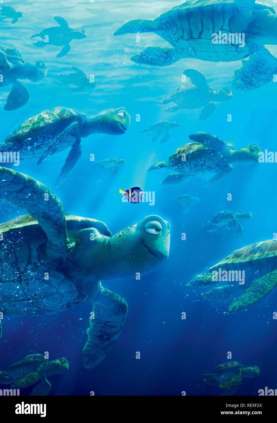 Dory Crush Finding Dory 2016 Stock Photo Alamy