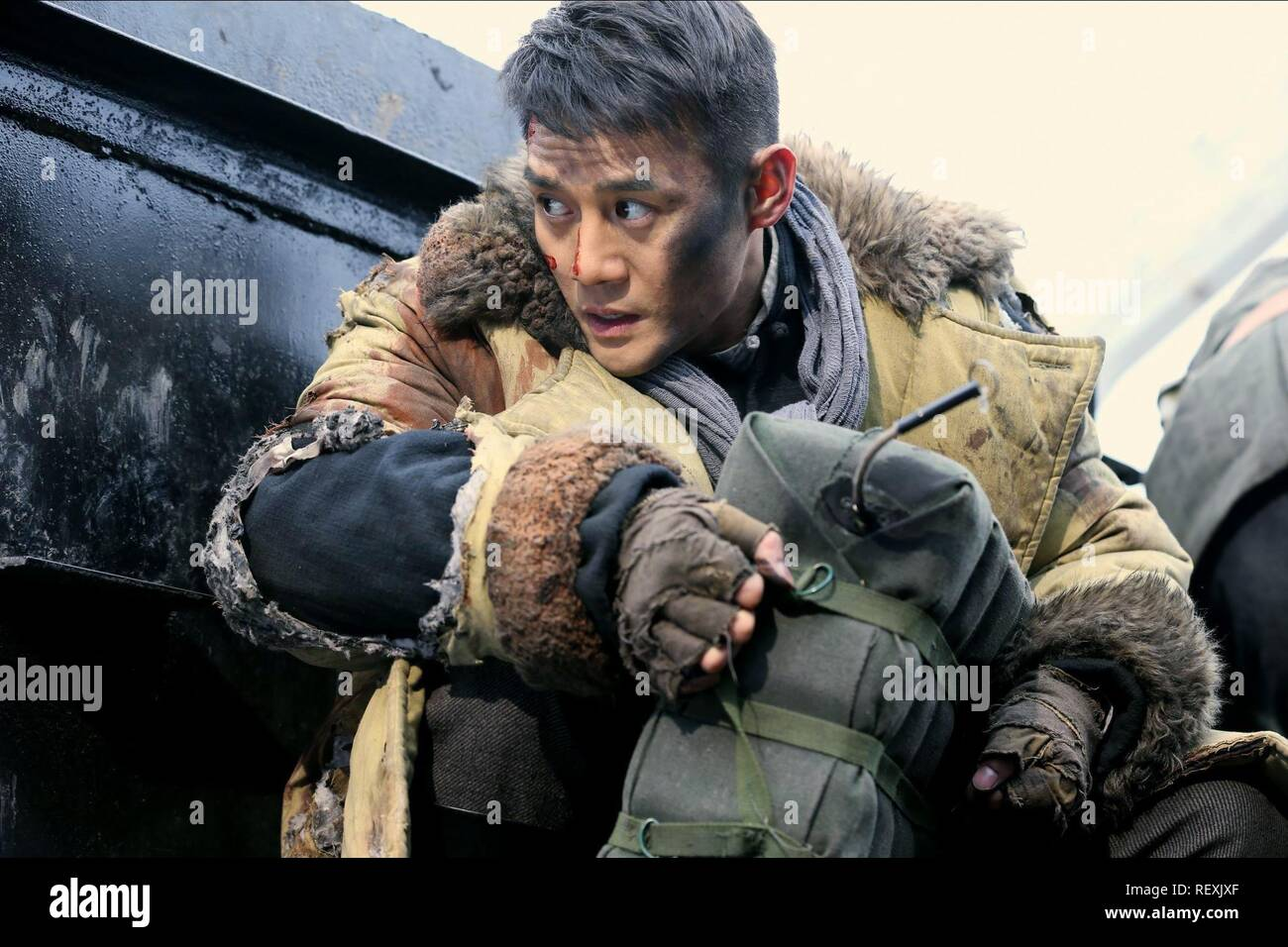 KAI WANG  Character(s): Fan Chuan  Film 'RAILROAD TIGERS' (2016)  Directed By DING SHENG  17 November 2016  SAV85182  Allstar Picture Library/SPARKLE ROLL MEDIA  **WARNING** This Photograph is for editorial use only and is the copyright of SPARKLE ROLL MEDIA  and/or the Photographer assigned by the Film or Production Company & can only be reproduced by publications in conjunction with the promotion of the above Film. A Mandatory Credit To SPARKLE ROLL MEDIA is required. The Photographer should also be credited when known. No commercial use can be granted without written authority from the Film - Stock Image