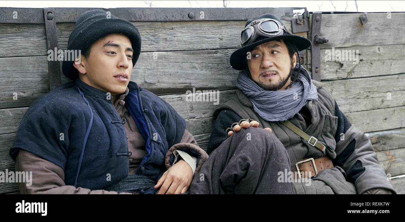 DARREN WANG & JACKIE CHAN  Character(s): Da Guo, Ma Yuan  Film 'RAILROAD TIGERS' (2016)  Directed By DING SHENG  17 November 2016  SAS73152  Allstar Picture Library/SPARKLE ROLL MEDIA  **WARNING** This Photograph is for editorial use only and is the copyright of SPARKLE ROLL MEDIA  and/or the Photographer assigned by the Film or Production Company & can only be reproduced by publications in conjunction with the promotion of the above Film. A Mandatory Credit To SPARKLE ROLL MEDIA is required. The Photographer should also be credited when known. No commercial use can be granted without written  - Stock Image