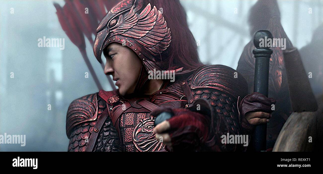 Eddie Peng The Great Wall 2016 Stock Photo Alamy