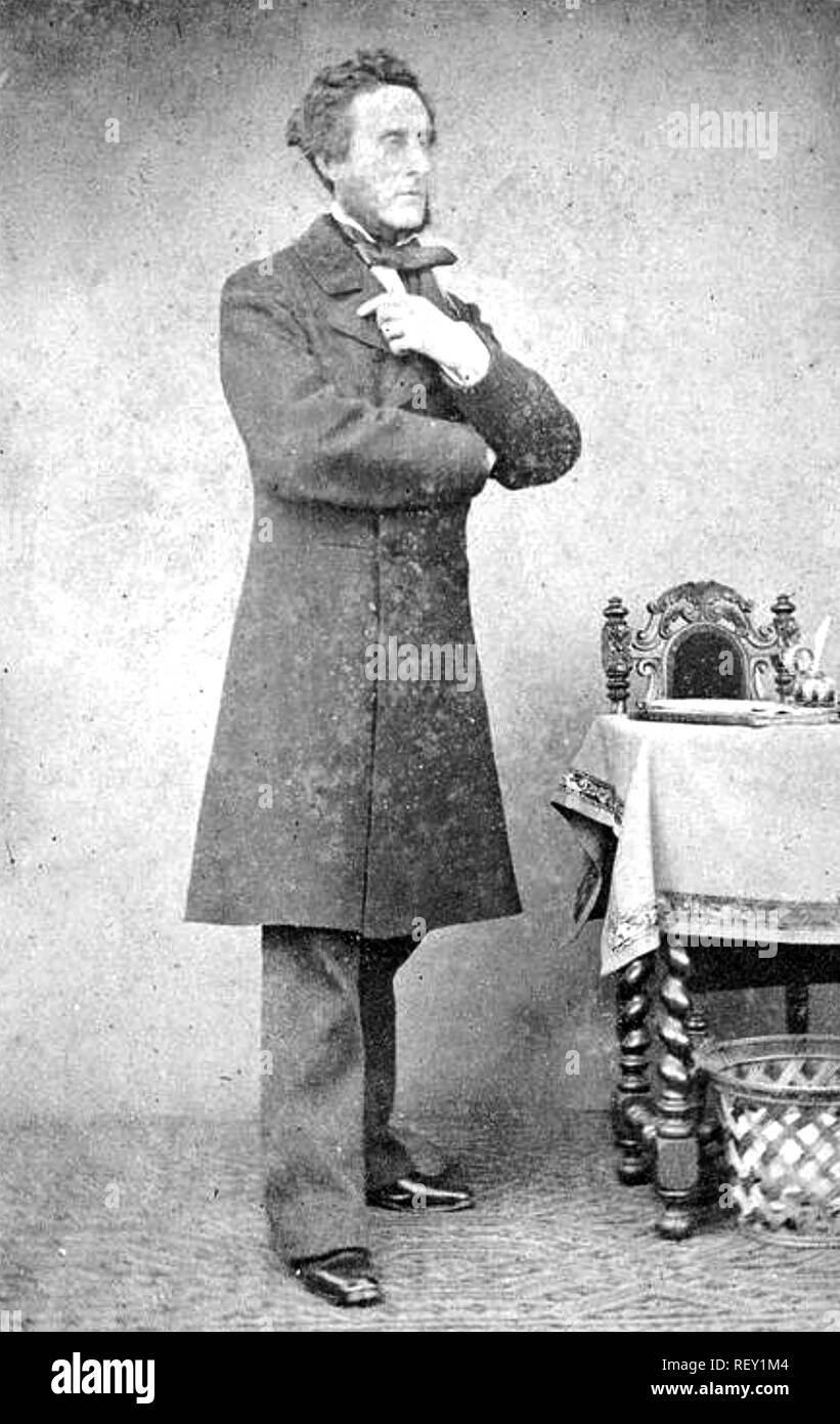 ANTHONY ASHLEY-COOPER,7th Earl of Shaftesbury (1801-1885) British politician and philanthropist - Stock Image