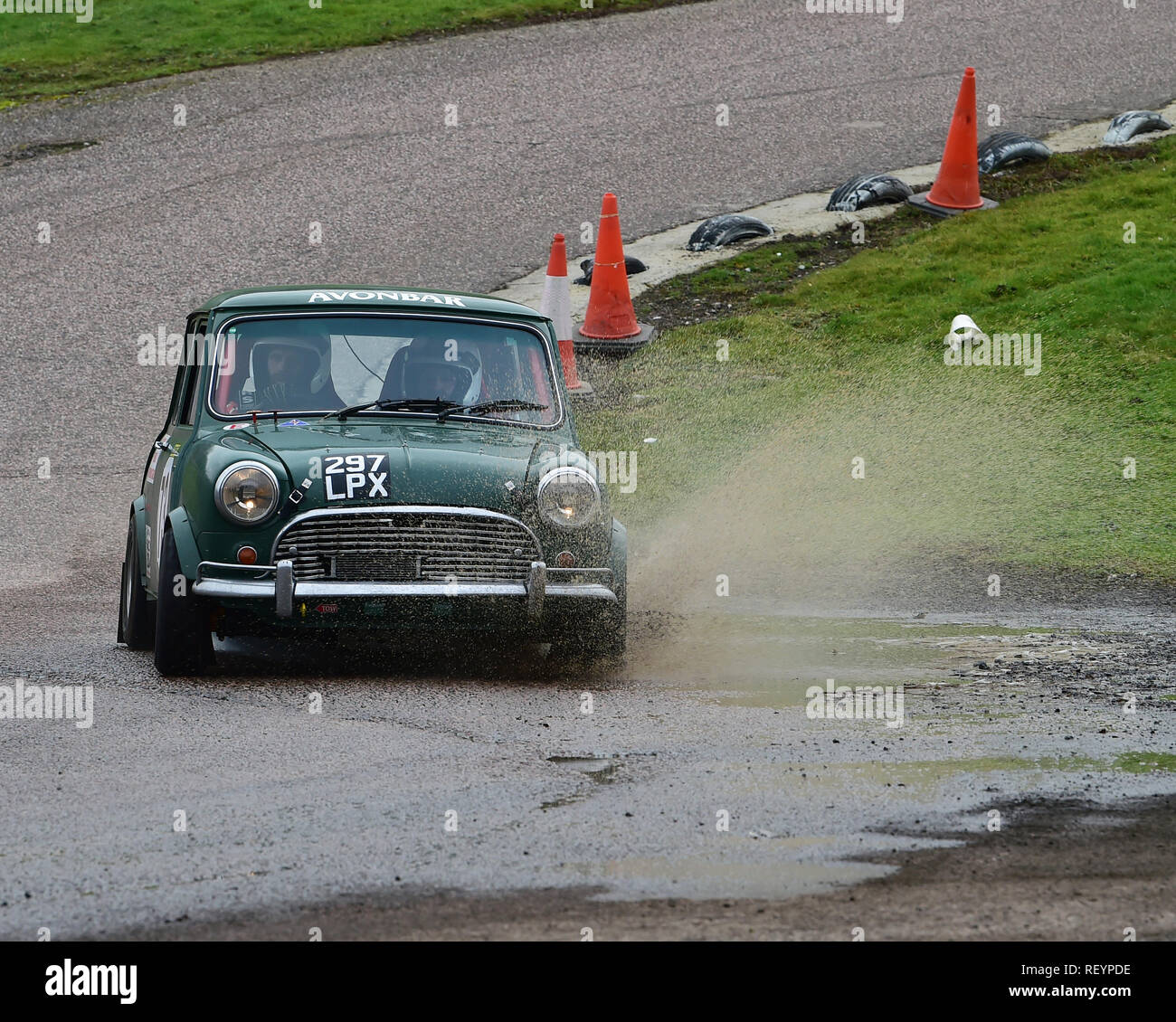 Alec Holding Mark Holding Austin Mini Mgj Rally Stages