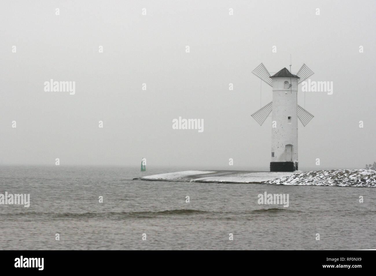 Swinemünde - Ostsee - Polen Stock Photo