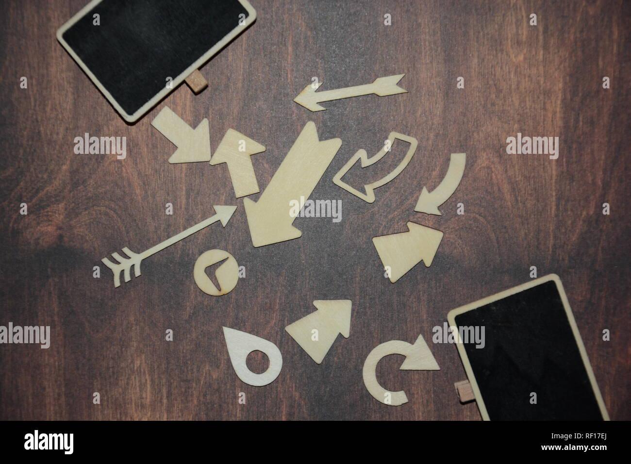 Wegweiser, Koffer, Urlaub, Reisen, Buchstaben, Hintergrund - Stock Image